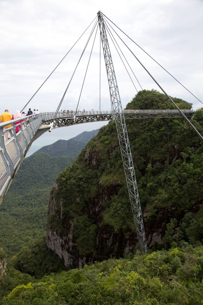 Langkawi Sky Bridge, Photo by George Grinsted