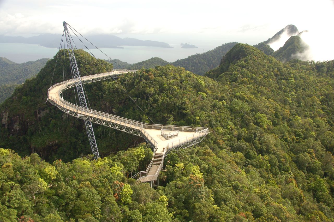 Langkawi Sky Bridge, Photo by Dylan Walters