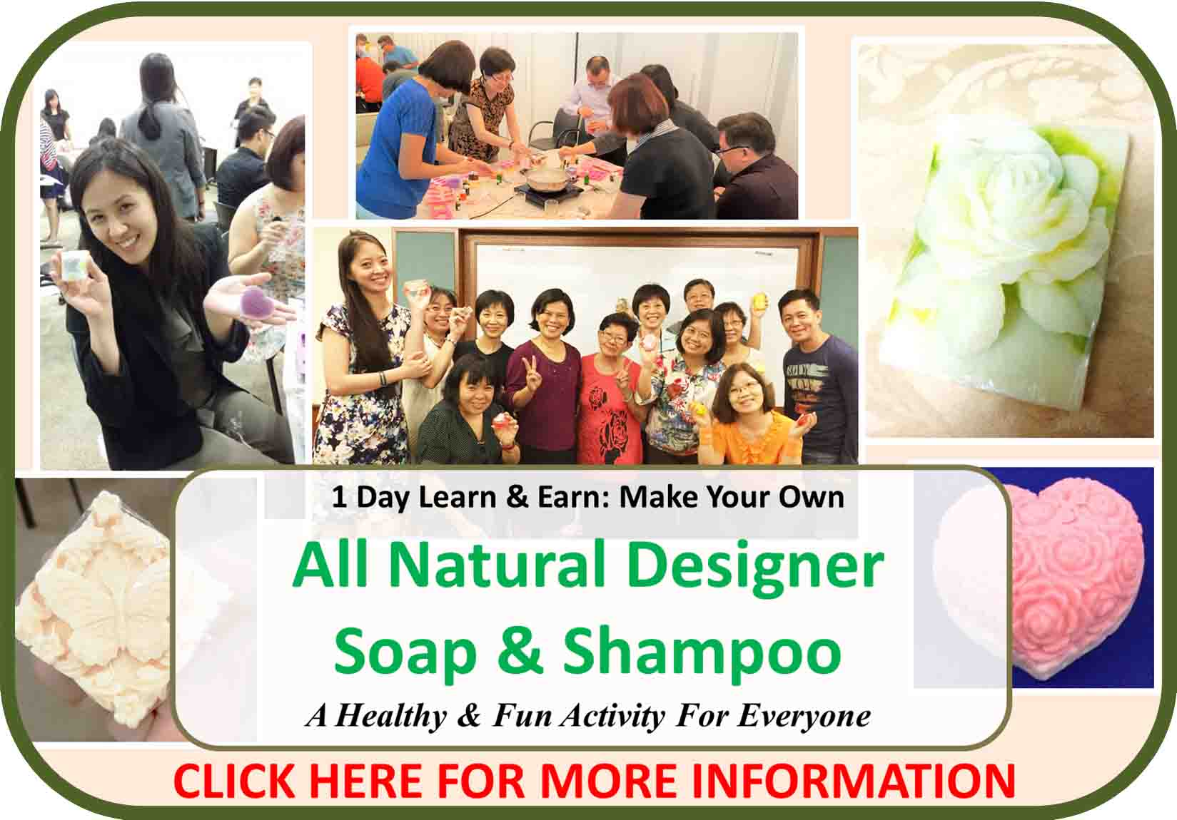 1 Day Make Your Own All Natural Soap & Shampoo